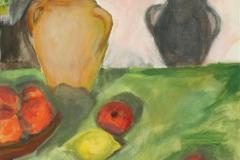 Stillleben, 2016, 50 x 40, Acryl auf Leinwand